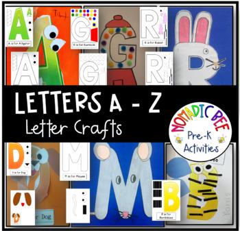 Letter Crafts A - Z
