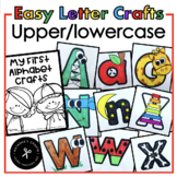 Alphabet Crafts Lowercase/Uppercase Distance Learning