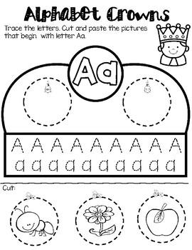 Alphabet/Letter Crowns - Headbands