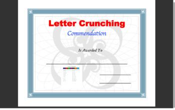 Letter Crunching