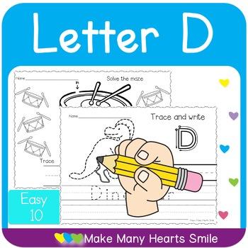 Easy 10: Letter D
