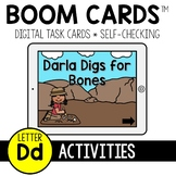 Letter D Activities BOOM CARDS™
