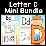 Letter D Activities {Letter D Book and 5 Letter D Worksheets!}