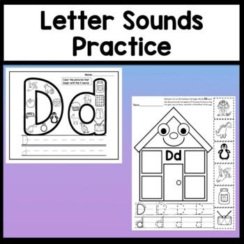Letter D Activities {Letter D Book and 5 Letter D Worksheets!}
