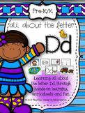 Letter D Activities for Pre-Kindergarten and Kindergarten