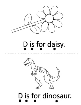 Letter D Activity Bundle - 2 Books with 5 Corresponding Worksheets