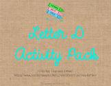Letter D Activity Pack