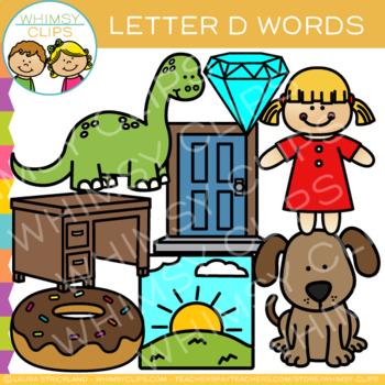 Letter D Alphabet Clip Art