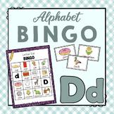Letter D Bingo Game