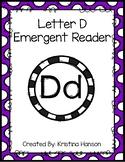 Letter D Book