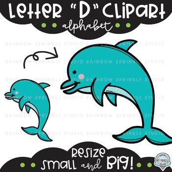 Letter D Clipart {alphabet clipart}