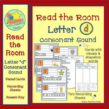 Letter D Consonant Sound Read the Room