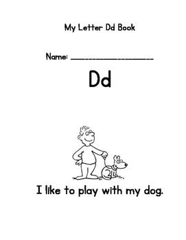Letter D Emergent Reader