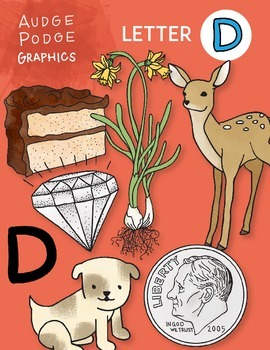 Letter D Graphics