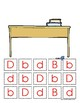 Letter D Handwriting and Recognition Practice