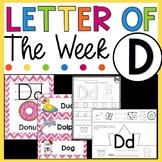 Letter D - Letter of the Week D - Letter of the Day D