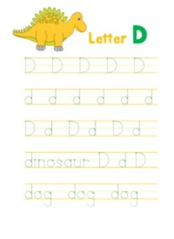 Letter D - © Love Letters - A Phonics/Reading Program
