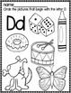 Letter D  Packet