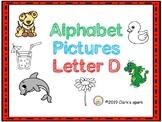 Letter D Pictures