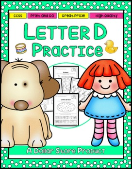 Letter D Practice Printables
