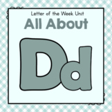 Letter D - Preschool Letter of the Week Unit