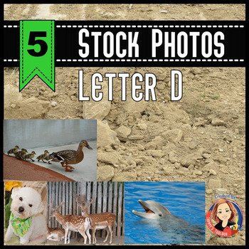 Letter D Stock Photos of Deer, Dog, Dirt, Dolphin, and Ducks