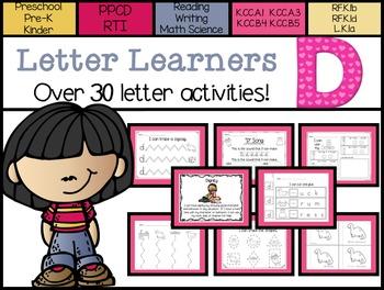 Letter Learners: Letter D