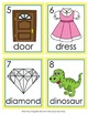 Letter D Words Write the Room Activity