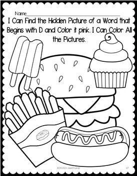 Letter of the Week: Letter D Workbook (PreK & Kindergarten)