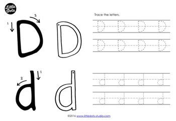 Letter D Activities and Worksheets