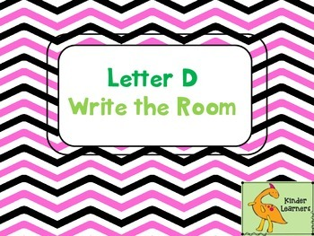 Write the Room Letter D