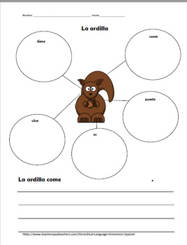 Alfabeto Letter D in Spanish - Letra D en espanol