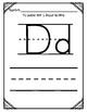 In Spanish {Letter D / La letra D}