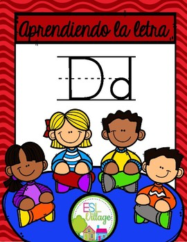 Aprendiendo la letra D
