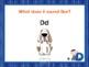 Letter Dd - Alphabet Lesson – Power Point – Interactive – Teaching the Letter D