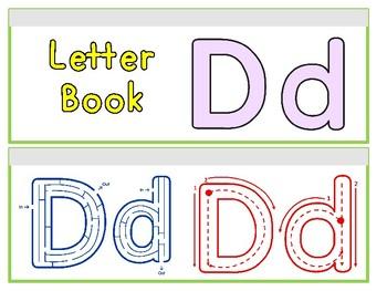 Letter Dd Binder Book
