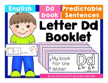 Letter Dd Booklet- Predictable Sentences