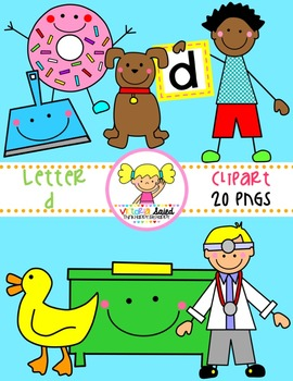 Letter Dd Clipart