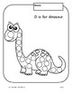 Letter Dd (D is for Dinosaur): Letter Zoo- Preschool Curriculum