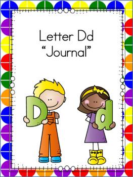 Letter Dd Journal