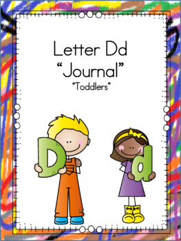 Letter Dd Journal for Toddlers