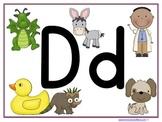 Letter Dd Learning Pack