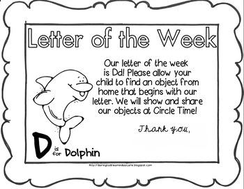 Letter Dd - Letter Home
