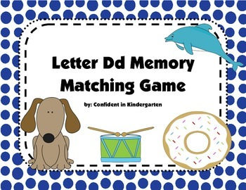 Letter Dd Memory Game