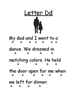 Letter Dd Reading Page