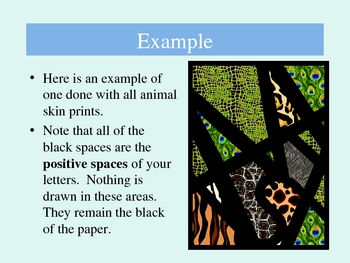 Letter Design Project PowerPoint