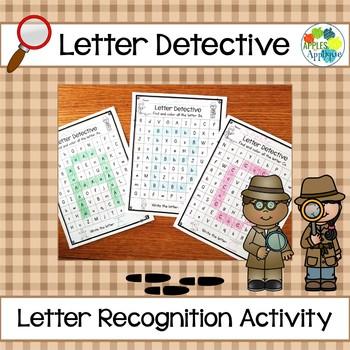 Letter Detective Activity