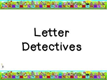 Letter Detective Flipchart