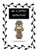 Letter Detective Freebie