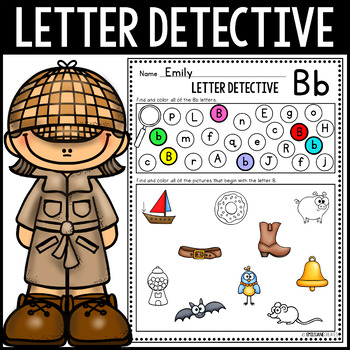 Letter Detective (Letter Recognition and Beginning Sounds)